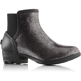 Sorel Janey Chelsea Boots Dames, black/pure silver